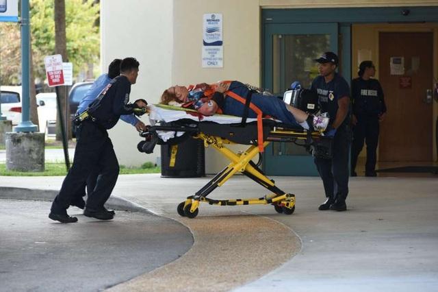Vụ tấn công khiến ít nhất 5 người chết, 8 người bị thương. Ảnh: AFP)