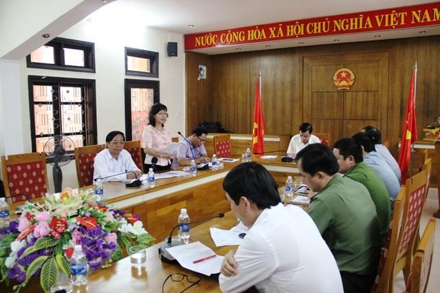Bà Nguyễn Thị Thu Thủy, Phó Giám đốc Sở GD-ĐT nêu quan điểm xử lý các học sinh vi phạm nhưng phải tạo có hội cho các em biết lỗi mình để rèn luyện, sửa chữa