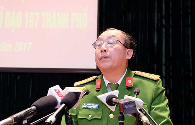 Ông Nguyễn Xuân Đình – Trưởng phòng Cảnh sát Trật tự CATP Hà Nội