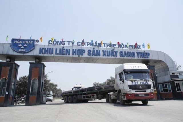 9 tháng vừa qua, thép xây dựng Hòa Phát đã cho ra thị trường gần 1,6 triệu tấn