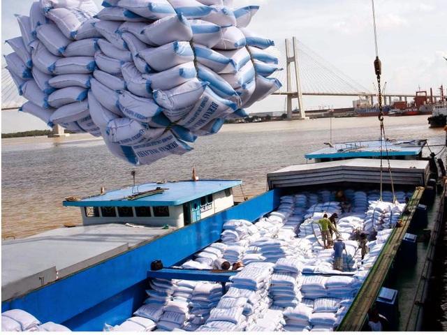 Xuất khẩu gạo năm 2016 sụt giảm mạnh gần 2 triệu tấn, không đạt mục tiêu đề ra