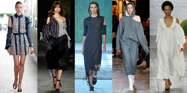Váy khoét vai, váy vai lệch hot từ mùa hè năm nay và dự báo vẫn sẽ được ưa chuộng trong mùa thu đông tới