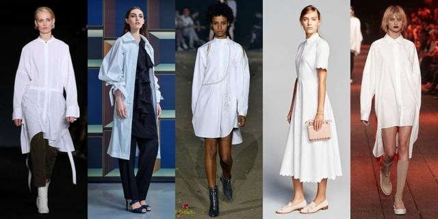 Màu trắng không bao giờ hết hot và mùa thu đông tới, những kiểu váy xuông, áo rộng free size trên vải tông màu trắng được các quý bà, quý cô ở mọi lứa tuổi ưa chuộng vì nó có tính ứng dụng cao và hợp với mọi thời điểm