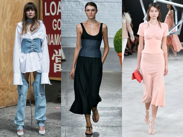 Các kiểu váy áo chiết eo thật sự phù hợp với những cô nàng có vòng hai thon thả và muốn được tôn lên thân hình đồng hồ cát của mình. Đó có thể là những chiếc thắt lưng to bản đi cùng trang phục hoặc chiết ao ngay trên chính chiếc áo/ thân váy
