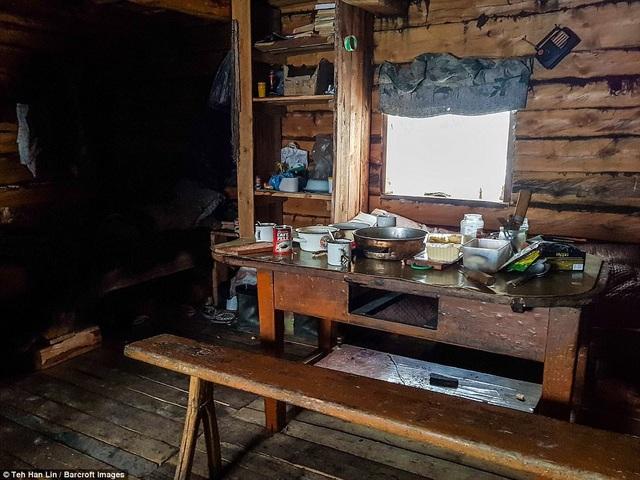 Bên trong bàn ăn của người Yakut