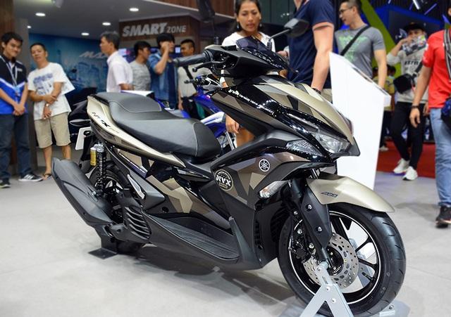Yamaha NVX có bản nâng cấp giảm xóc sau - 3