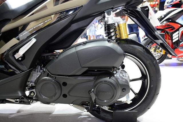 Yamaha NVX có bản nâng cấp giảm xóc sau - 1