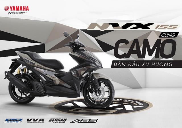Yamaha ra mắt NVX 155 Camo có giá 52,69 triệu đồng - 1
