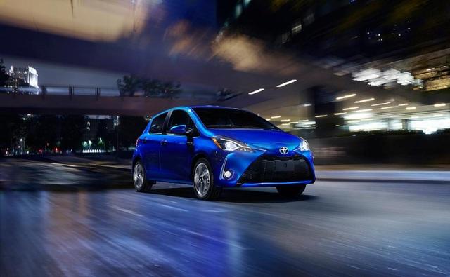 Toyota thêm cổng USB, trang bị an toàn cho Yaris 2018 - 1