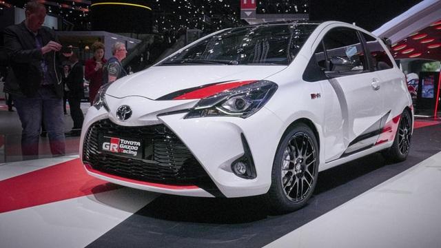 GRMN là chữ viết tắt của cụm từ Gazoo Racing Masters of Nurburgring (Giải đua xe Gazoo do Toyota tổ chức). Toyota Yaris GRMN được sản xuất dựa theo cảm hứng từ những mẫu xe đua của hãng tại giải World Rally Championship.
