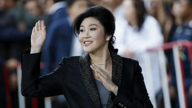 Cựu Thủ tướng Thái Lan Yingluck Shinawatra (Ảnh: EPA)