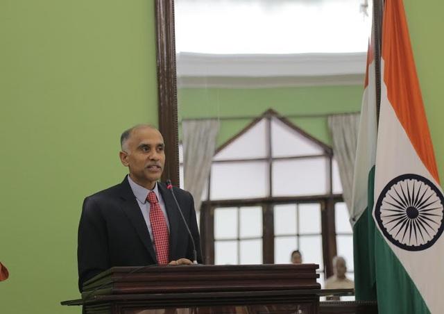 Ông Parva Thaneni Harish: Đại sứ Ấn Độ tại Việt Nam phát biểu tại buổi lễ