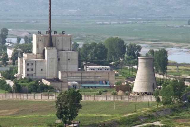 Ảnh chụp Khu tổ hợp hạt nhân Yongbyon của Triều Tiên năm 2008 (Ảnh: BBC)