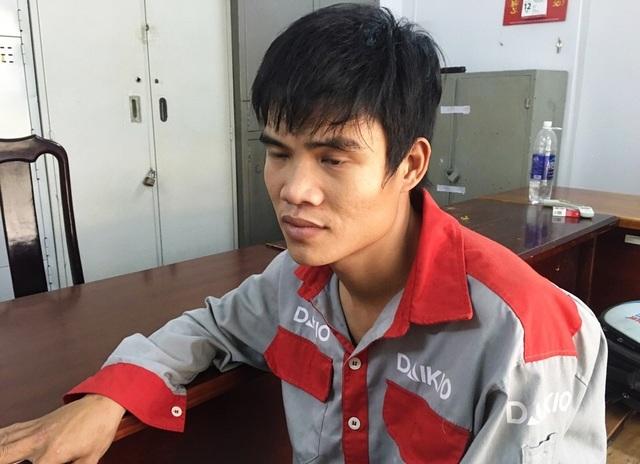 Chu Văn Hùng đang bị Công an quận Thủ Đức tạm giữ điều tra về hành vi Chống người thi hành công vụ.