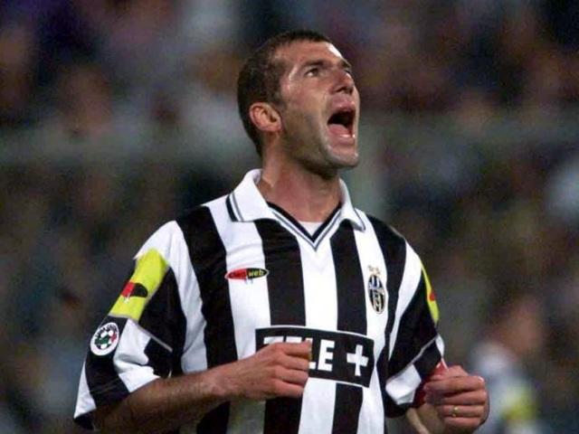 Zidane từng có năm tháng đáng nhớ ở Juventus