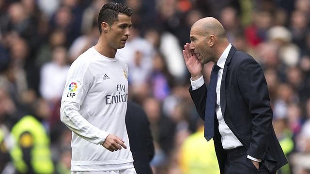 Zidane chấp nhân hạ mình để khích tướng C.Ronaldo