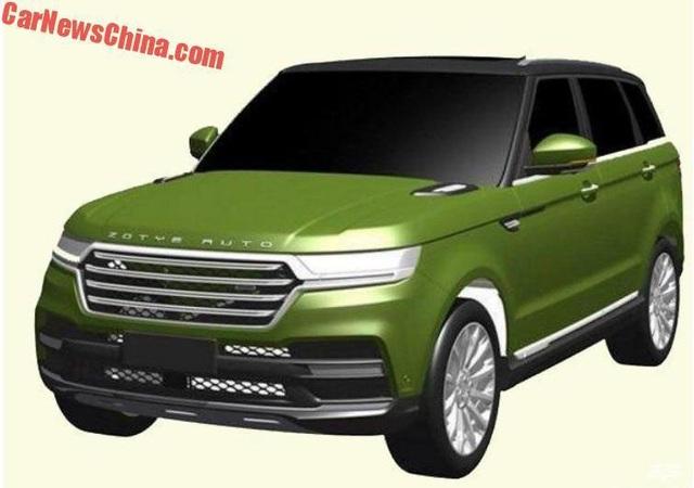 Hãng xe Trung Quốc nhái thiết kế Range Rover Sport - 1