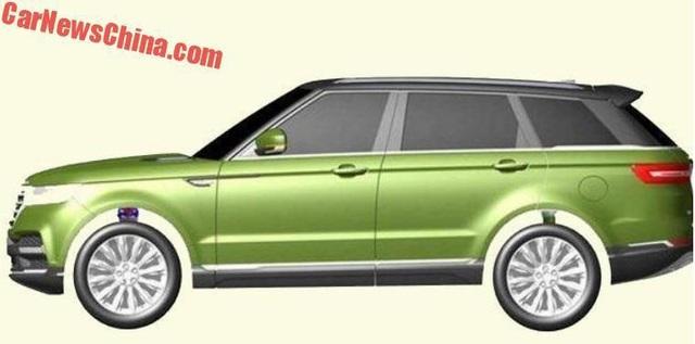 Hãng xe Trung Quốc nhái thiết kế Range Rover Sport - 2
