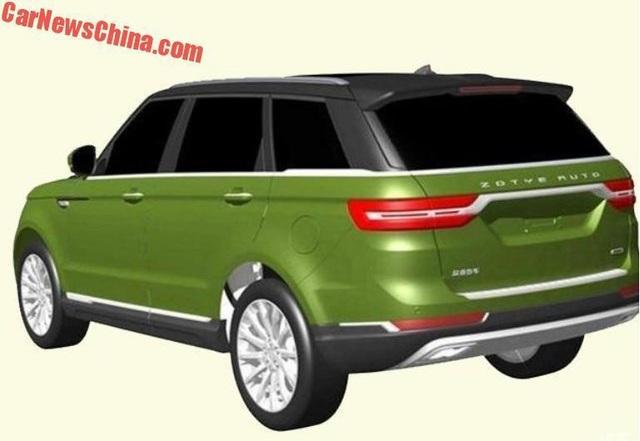 Hãng xe Trung Quốc nhái thiết kế Range Rover Sport - 3