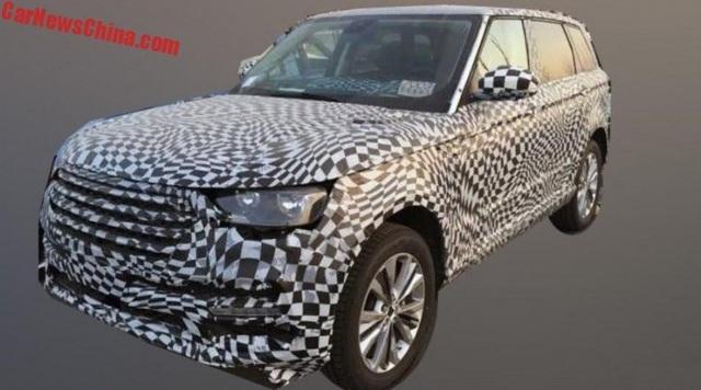 Hãng xe Trung Quốc nhái thiết kế Range Rover Sport - 4