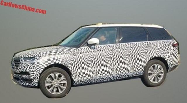 Hãng xe Trung Quốc nhái thiết kế Range Rover Sport - 5