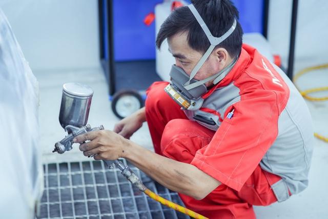 Đội ngũ nhân viên được huấn luyện bài bản theo tiêu chuẩn quốc tế