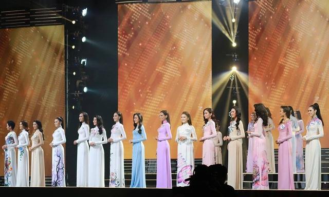 Top 15 người đẹp nhất chung kết Hoa hậu Hoàn vũ Việt Nam 2017