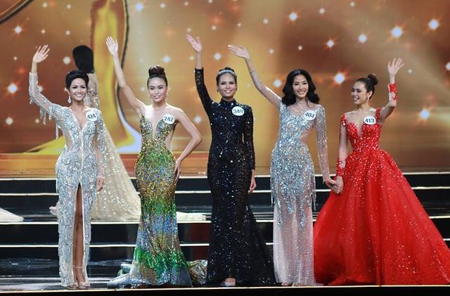 5 người đẹp nhất cuộc thi hoa hậu hoàn vũ VN 2017