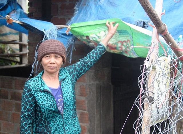 Bà Kiều cho rằng chính quyền thôn không công bằng trong việc hỗ trợ thiệt hại vật nuôi do lũ, dẫn đến người dân bức xúc khiếu nại.