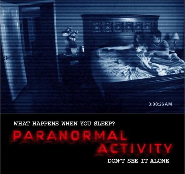 1. Paranormal Activity (Hiện tượng siêu nhiên - 2007)