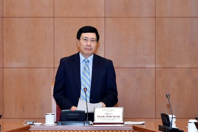 Phó Thủ tướng Phạm Bình Minh chủ trì Hội nghị