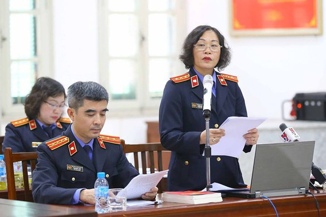 Theo ý kiến của Viện Kiểm sát, Trịnh Xuân Thanh giữ vai trò quyết định (ảnh phiên xử, nguồn: TTXVN)