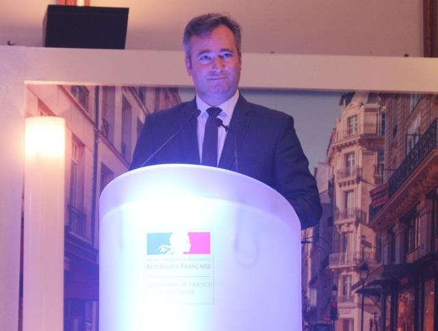 Quốc vụ khanh bên cạnh Bộ trưởng Châu Âu và Ngoại giao Pháp Jean-Baptiste Lemoyne tin tưởng vào sự phát triển của mối quan hệ Việt - Pháp (Ảnh: Thành Đạt)