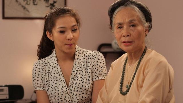 Nghệ sĩ Ngọc Thoa rất hay được mời vào vai bà nội, bà ngoại của các bộ phim truyền hình.
