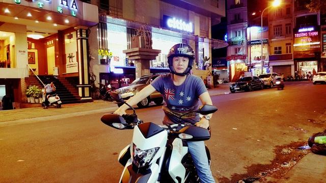 MC Anh Tuấn mong Việt Nam vô địch để còn ra đường đi bão với cả nước.