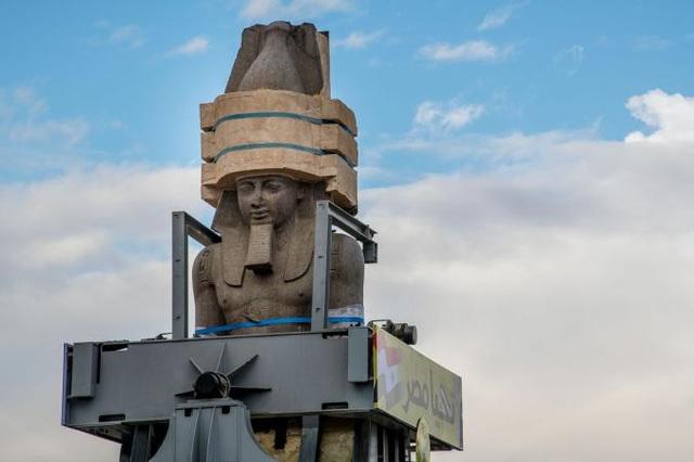 Buổi lễ di dời tượng Pharaoh được tổ chức long trọng tại thủ đô Cairo