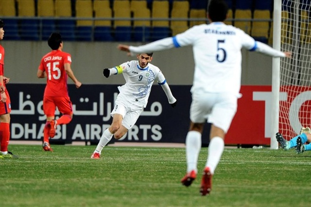 U23 Uzbekistan đã hạ đo ván U23 Hàn Quốc 4-1 ở bán kết