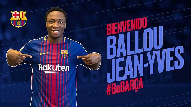 Barcelona chính thức đón tài năng trẻ Jean-Yves Tabla
