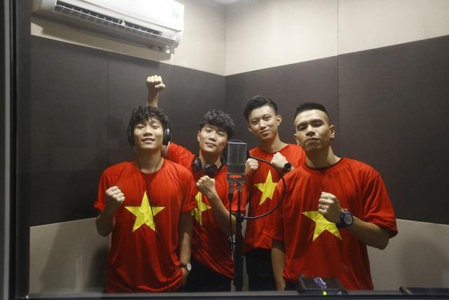 Nhóm Oplus sẽ tham gia biểu diễn trong đêm nghệ thuật vinh danh các cầu thủ U23 Việt Nam diễn ra tại Mỹ Đình vào 28/1.