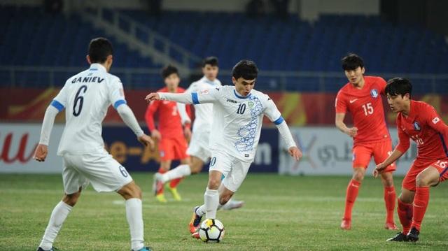 Hai cầu thủ Khamdamov (tiền vệ cánh trái) và Javokhir Sidikov (hộ công) đã kiến tạo hơn một nửa số bàn thắng (10 bàn) của U23 Uzbekistan tính tới thời điểm này.