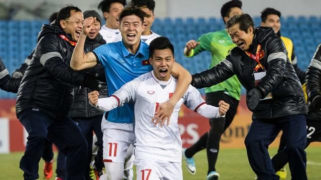 U23 Việt Nam đã lọt vào chung kết sau khi hạ gục U23 Iraq và U23 Qatar sau những loạt sút luân lưu. Điều đáng nói, trong kỳ U23 châu Á được tổ chức, người ta mới 3 lần chứng kiến các đội giải quyết thắng thua nhờ loạt đấu súng (trước đó, Jordan từng hạ gục Hàn Quốc ở loạt sút luân lưu trong trận tranh hạng Ba năm 2013).
