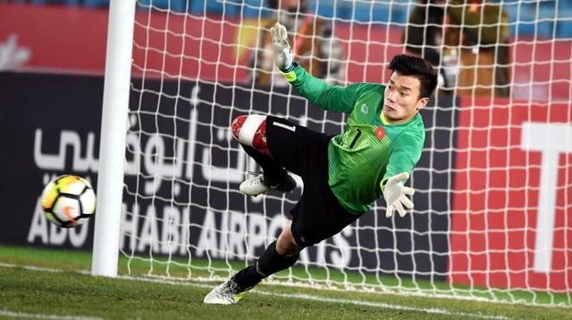 Thủ môn Bùi Tiến Dũng sẽ có những ngày bận rộn cùng CLB FLC Thanh Hoá tại AFC Cup, trước và sau Tết