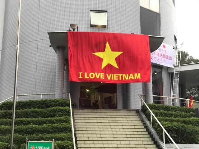 Việt Nam rực sắc đỏ trước trận chung kết U23 châu Á - 1