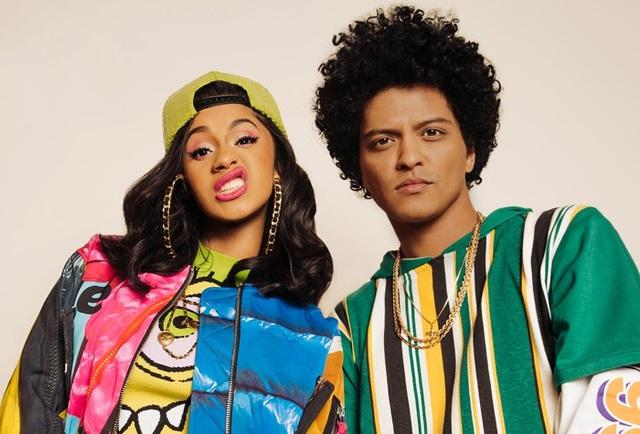 """Bruno Mars và Cardi B sẽ thể hiện ca khúc """"Finesse"""""""