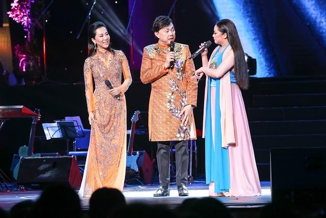 Màn song ca và giao lưu của Chí Tài - Như Quỳnh khiến khán giả rất ấn tượng.