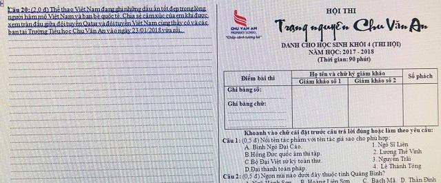 Quảng Bình: Thí sinh hội thi Trạng nguyên thích thú với câu hỏi về U23 Việt Nam - 1