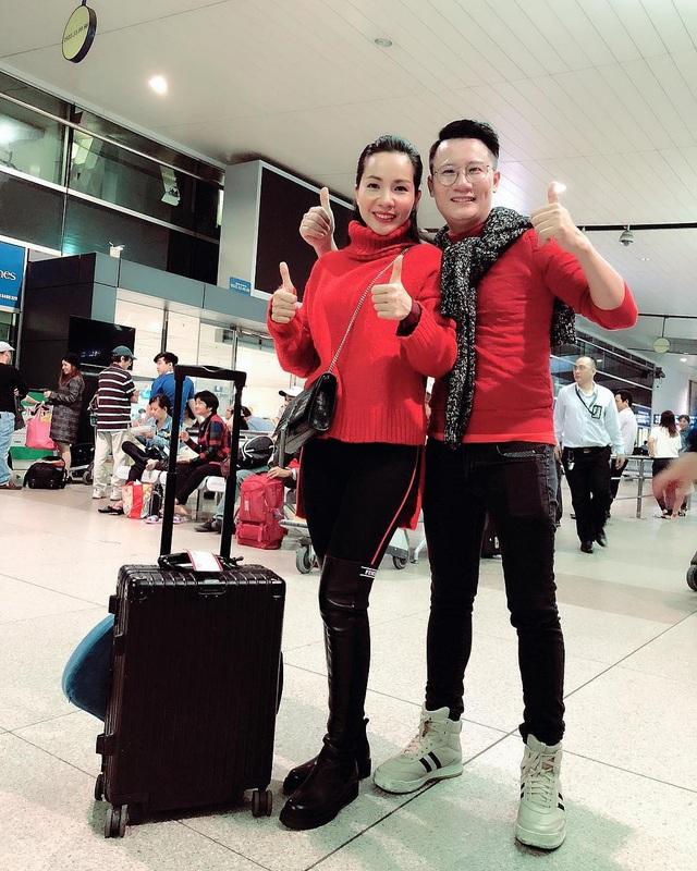 Quyền Linh, Hoàng Bách, Bình Minh lên đường đi cổ vũ U23 Việt Nam từ 3h sáng - 5