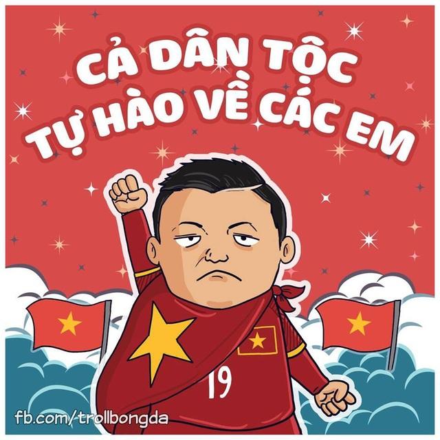 Cả dân tộc tự hào vì các chàng trai U23 Việt Nam