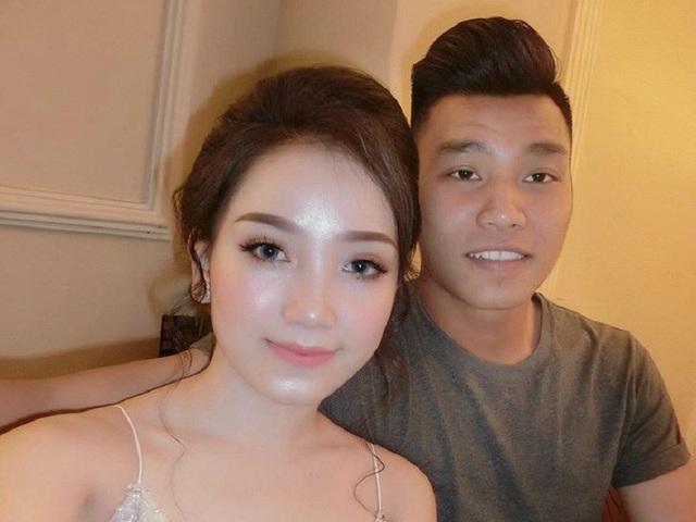 Đọ sắc bạn gái xinh đẹp của một số cầu thủ U23 Việt Nam - 1