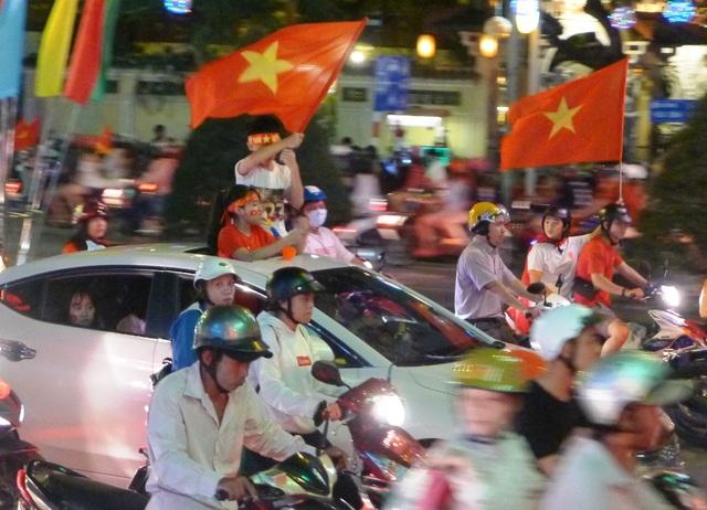 Cháy hết mình cùng U23 Việt Nam, mặc dù các tuyển thủ không giành được chức vô địch...